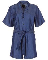 G-Star RAW Jumpsui Bronson Short Jumpsuit - Blauw