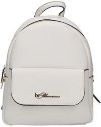 be Blumarine 628001a Backpack - White