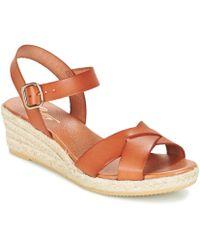 9d30d45ea5e Giorgia Women's Sandals In Brown