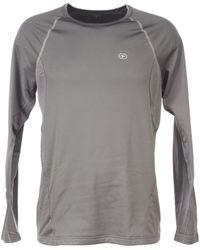 DAMART Easy body 4 ant ml tee Sweat-shirt - Gris