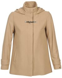 Tommy Hilfiger Mantel New Thea City Jkt - Naturel