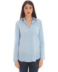GANT - 1401.431990 femmes Chemise en bleu - Lyst