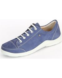 Finn Comfort - Soho Electro Women's Shoes (trainers) In Blue - Lyst