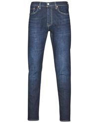 Levi's Skinny Jeans Levis 512 Slim Taper Fit - Blauw