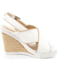 Calvin Klein - Elaine Women's Sandals In White - Lyst