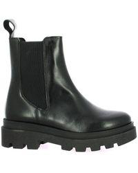 So Send Boots cuir Boots - Noir