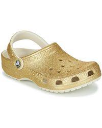 Crocs™ Klompen Classic Glitter Clog - Metallic