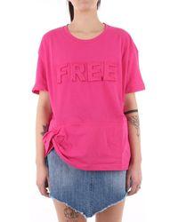 Jijil JPE21TS178-0JE0081 T-shirt - Rose