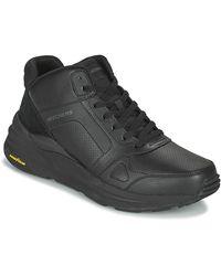 Skechers Hoge Sneakers Global JOGGER - Zwart