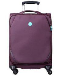 Słoń Torbalski 040101 Soft Suitcase - Purple