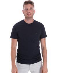 Les Copains Camiseta 9U9011 - Azul