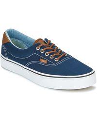 Vans Lage Sneakers Era - Blauw