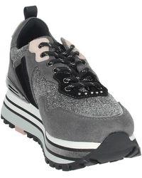 Liu Jo Hoge Sneakers Wonder Maxi - Grijs