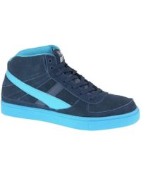 Smith's - Empire Ms 1061 Navy Men's Shoes (high-top Trainers) In Blue - Lyst