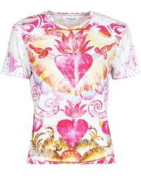 Desigual - TATTOO T-shirt - Lyst