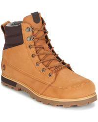 Volcom - Sub Zero Men's Mid Boots In Brown - Lyst
