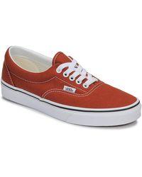 Vans Lage Sneakers Ua Era - Bruin