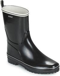 Aigle Regenlaarzen Venise Botillon 2 - Zwart
