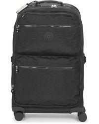 Kipling City Spinner M Soft Suitcase - Black