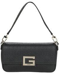 Guess Handtas Brightside Shoulder Bag - Zwart