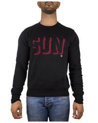 Sun68 F28112 Sweat-shirt - Noir