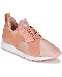 PUMA Lage Sneakers Muse X-strp St Ep W's - Roze