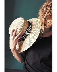 Amenapih - Straw Hat , Black - Cordoue Women's Hat In Beige - Lyst