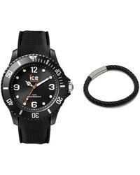 Ice-watch Coffret Ice sixty nine Black Large Montre - Noir