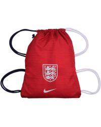 ccc602eed5 Nike - 2018-2019 England Allegiance Gym Sack Men s Backpack In Red - Lyst
