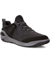 Ecco Lage Sneakers 80190451052 - Zwart