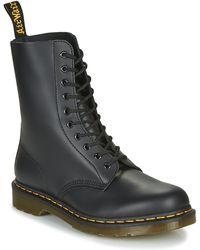Dr. Martens Jadon 8-eye boot - Negro