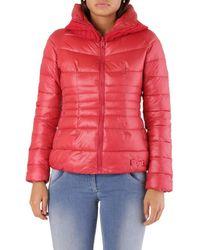 Met Wo Jacket In Red Jacket