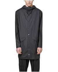 Rains Abrigo 1202 Black - Negro