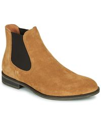 SELECTED Laarzen Louis Suede Chelsea Boot - Bruin
