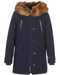 Betty London Parka Jas Hari - Blauw
