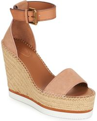 See By Chloé Espadrilles Sb26152 - Naturel