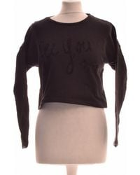 IKKS Sweat Femme 38 - T2 - M Sweat-shirt - Noir