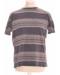 ASOS T-shirt Manches Courtes 36 - T1 - S T-shirt - Bleu