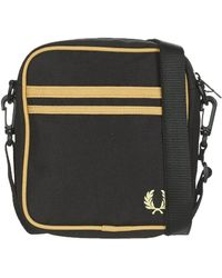 Fred Perry Handtassen Twin Tipped Side Bag - Zwart