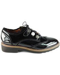Mam'Zelle Derby SALIM Vernis Noir Chaussures