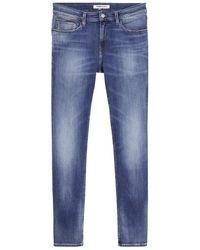 Tommy Hilfiger - Jeans Jean ref_50754 1A4 Bleu - Lyst