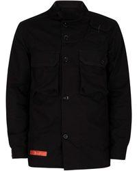 G-Star RAW Surchemise droite utilitaire Manteau - Noir