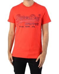 Superdry - T-shirt Tee-Shirt Downhill Racer Applique - Lyst