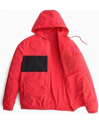 Calvin Klein Coupe-vent avec logo - Rouge