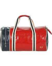 Fred Perry Sporttas Colour Block Classic Brl Bag - Rood
