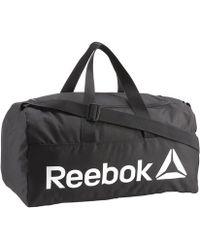 Reebok Act Core Men's Sports Bag In Multicolour - Black