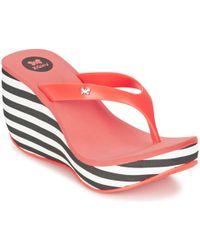 Zaxy - Lipstick V Women's Flip Flops / Sandals (shoes) In Orange - Lyst