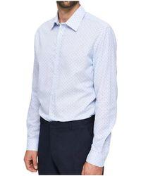 SELECTED Camisa manga larga - Azul