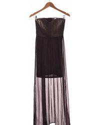 H&M Robe Courte 34 - T0 - Xs Robe - Noir