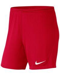 Nike Korte Broek Park Iii Knit Short Nb Women - Rood